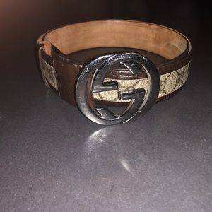 Authentic Gucci Brown Belt